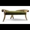 Belle Velvet Baroque Chaise Sofa