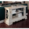 San Marco Living Room Console Table in White