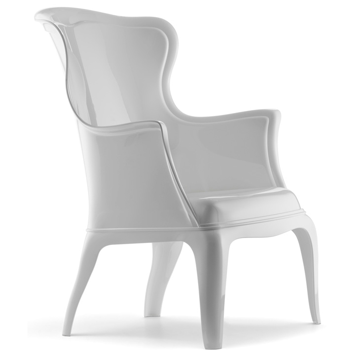 Genial Pasha Transparent Chair By Marco Pocci And Claudio Dondoli For Pedrali