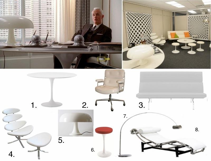 Blog Midcentury Modern Trends Roger Sterling S Office