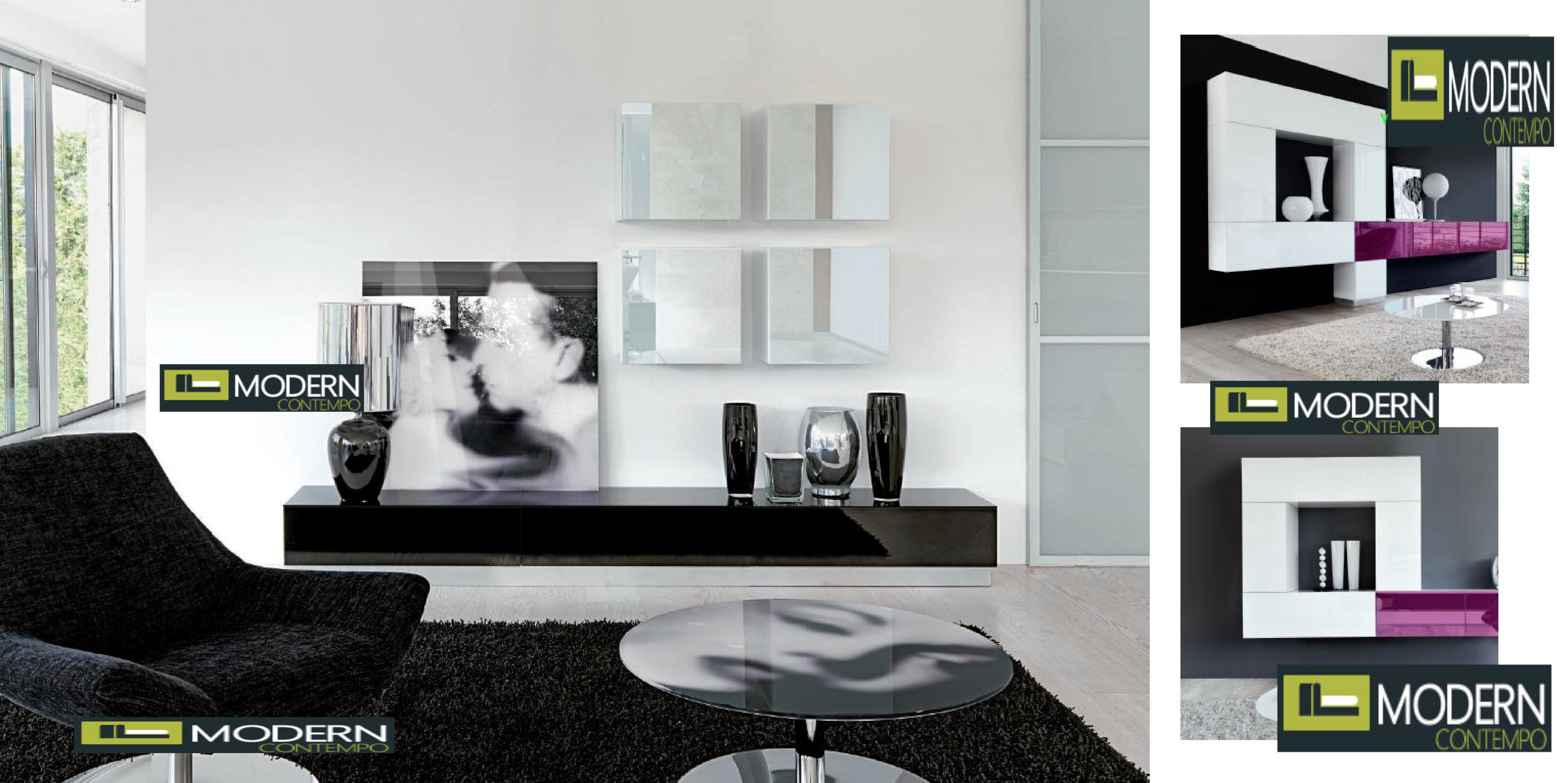 Blog - Exclusive And Modern Wall Unit Design IDeas, Modern TV Wall ...