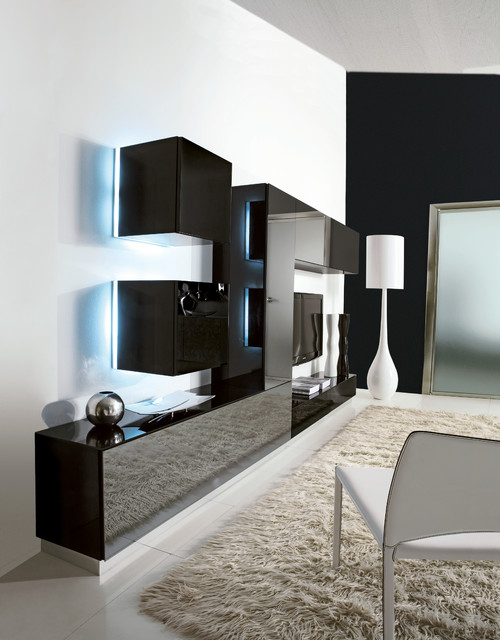 Tv Unit In Living Room: Exclusive And Modern Wall Unit Design IDeas, Modern